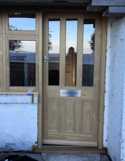 Accoya Door with Side Window