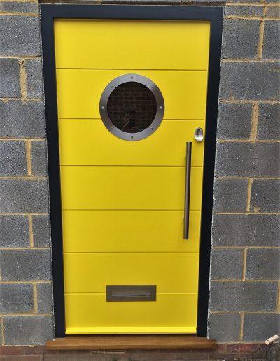 Porthole Front door